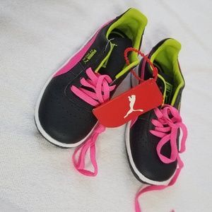 Puma shoes for girl size 9